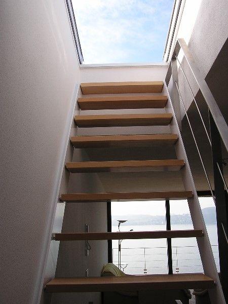 Dachausstieg Treppe wieder auf das bild klicken zum verkleinern dachterrassen