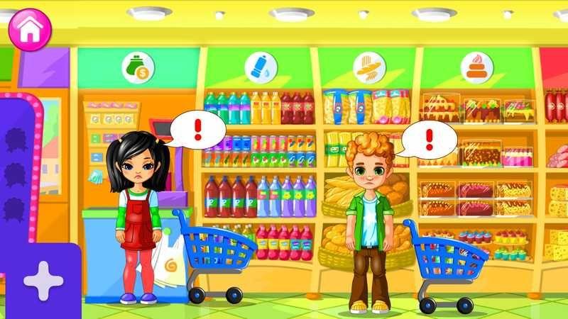 لعبة سوبر ماركت للأطفال Supermarket Game For Kids ساعد زبائنك بالتسوق في السوبرماركت وإحصل على كثير من التسلية Mario Characters Character Luigi
