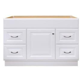 25+ Project source 48 in white bathroom vanity cabinet custom