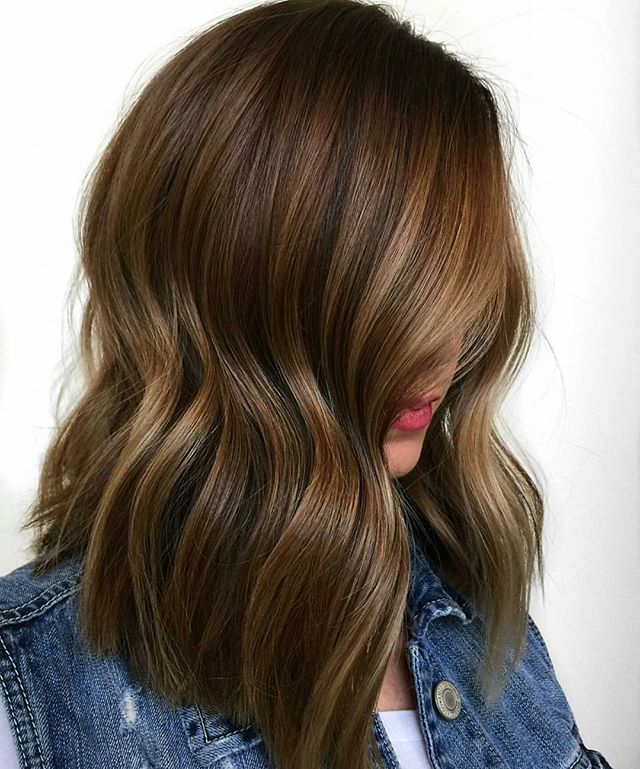 Chocolate Waterfall... by @prettylittleombre #BEHINDTHECHAIR ...