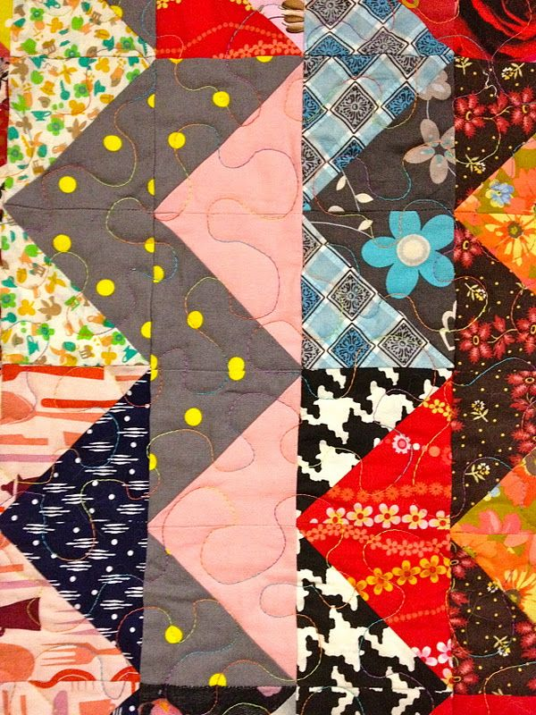 Quilt zig zag patterns