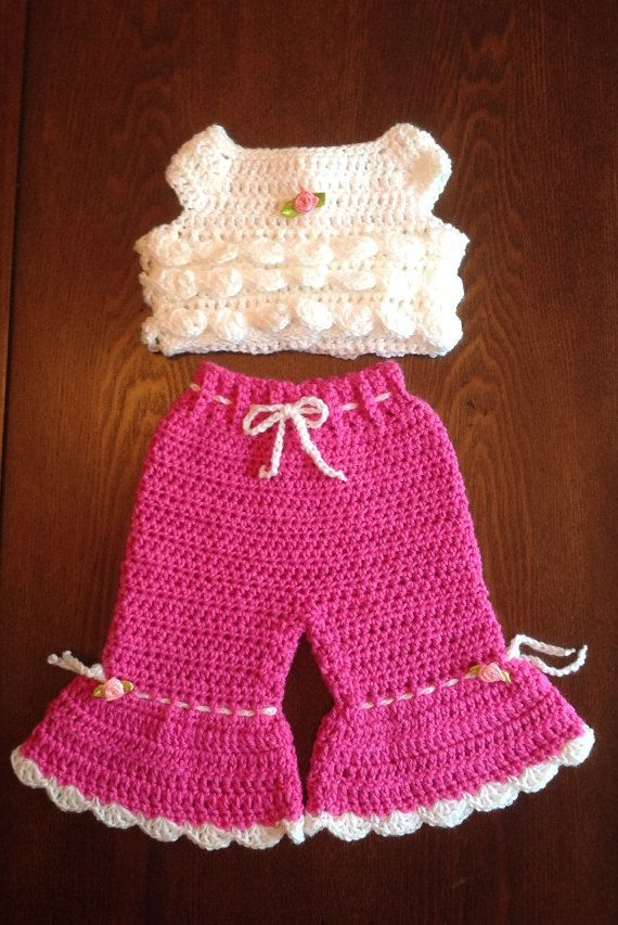 Newborn Crochet Set PATTERN #vestidosparabebédeganchillo
