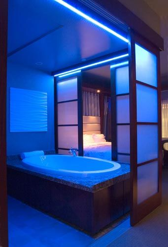 Image From A Guest Bathroom At The Shade Hotel Manhattan Beach Ca Designed By Christopher Lowell