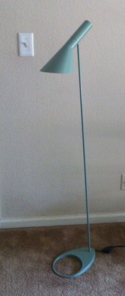 Louis Poulsen Tergetti Floor Lamp Aj 28760 Blue Green