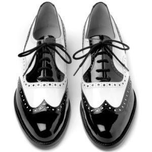 Black and white patent spats. #plocomiBw