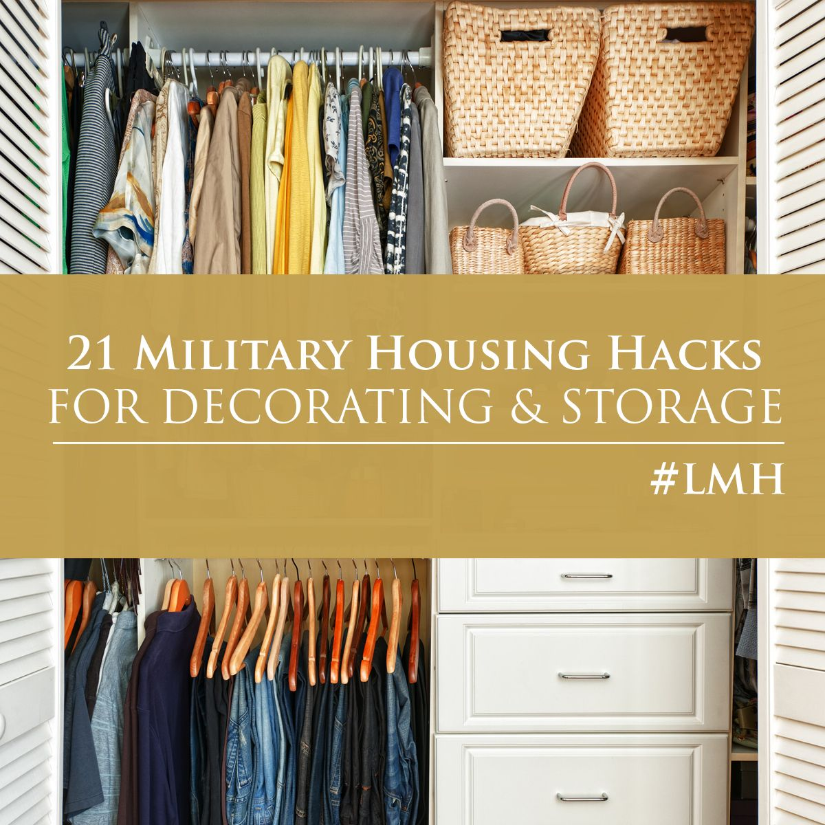 21 Most Unique Wood Home Decor Ideas: 21 Military Housing Hacks: Tips For Decorating And Storage