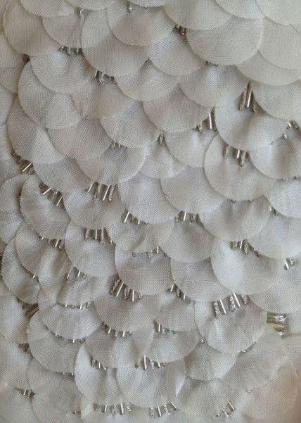 Embroidery Techniques Embellishments Fabric Manipulation 28+ Super Ideas #fabricmanipulation