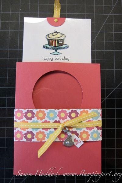 Magic Birthday Card Opened Stampin Up Pinterest Birthdays