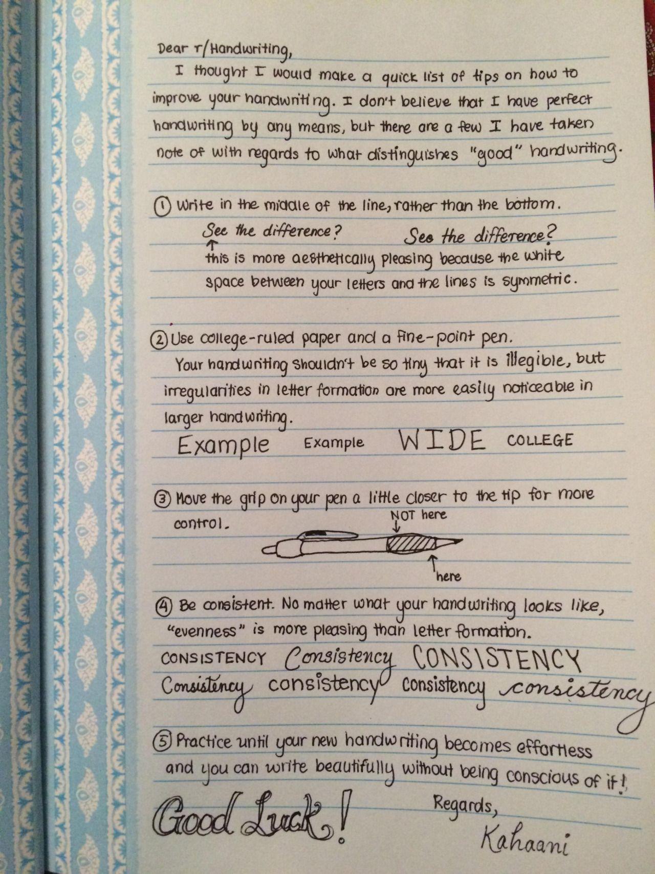 staedtlers and stabilos u201c Handwriting Tips from Reddit u201d