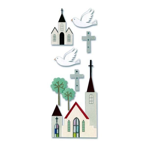 Church SPJJ050 #churchitems Jolee's Boutique scrapbooking sticker Church item SPJJ050. $1.35 #churchitems