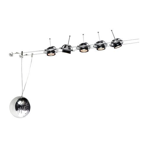 ikea cable lighting. TERMOSFÄR Low-voltage Wire System 5 Spots IKEA Adjustable Spotlight Shade And Movable Along Ikea Cable Lighting E