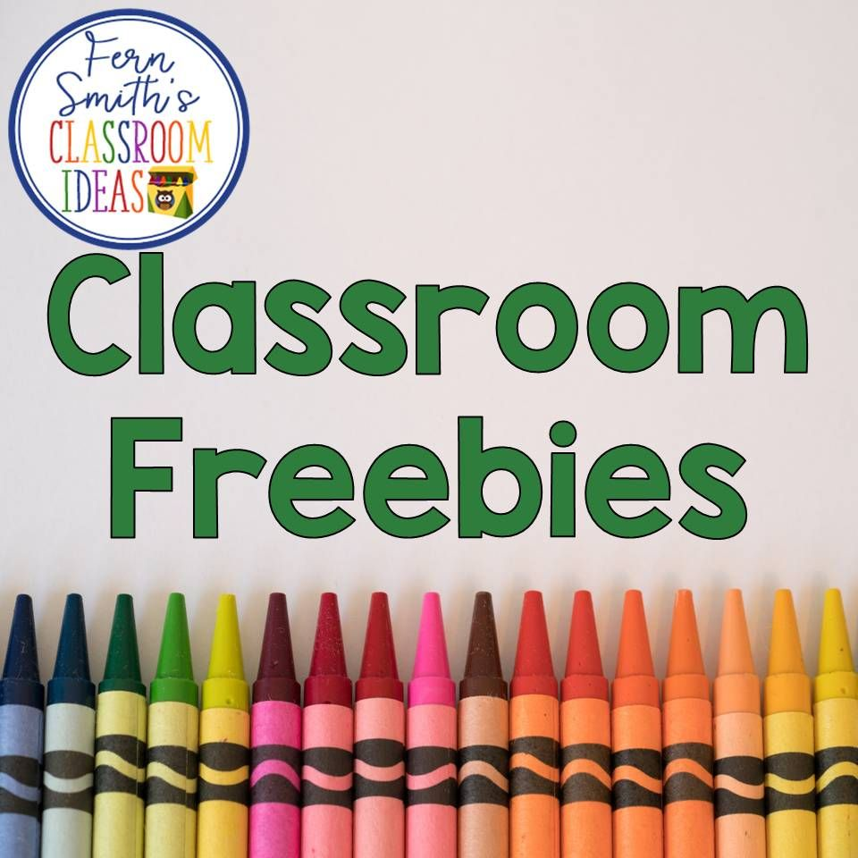 This board has free teaching resources from Fern Smith\'s Classroom ...
