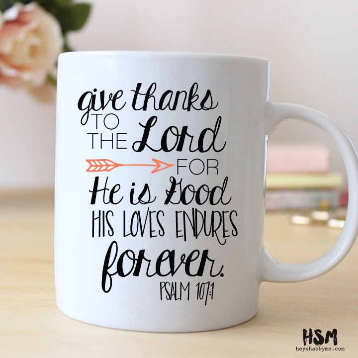 Give Thanks Mug Coffee Coffee Coffee Mugs Funny