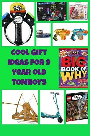 Cool Gift Ideas For 9 Year Old Tomboys Tomboy Gift 9