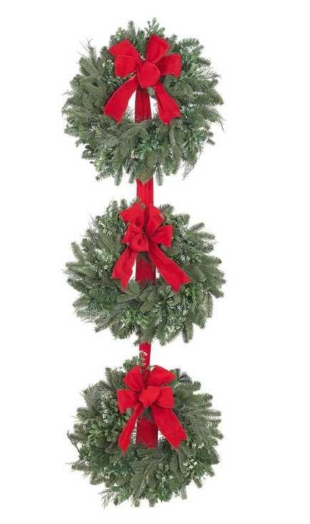 3 Tier CHRISTMAS Wreath CHRISTMAS Shoppe Pinterest