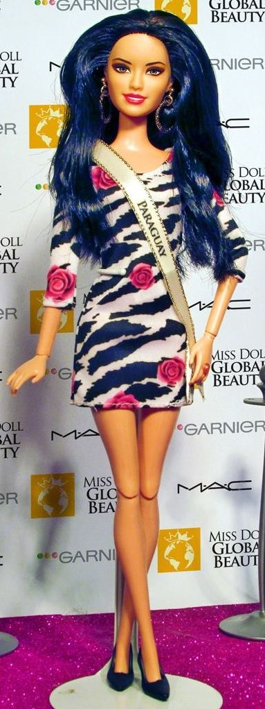 Miss Doll Global Beauty Pageant Miss Paraguay . 35 15 2