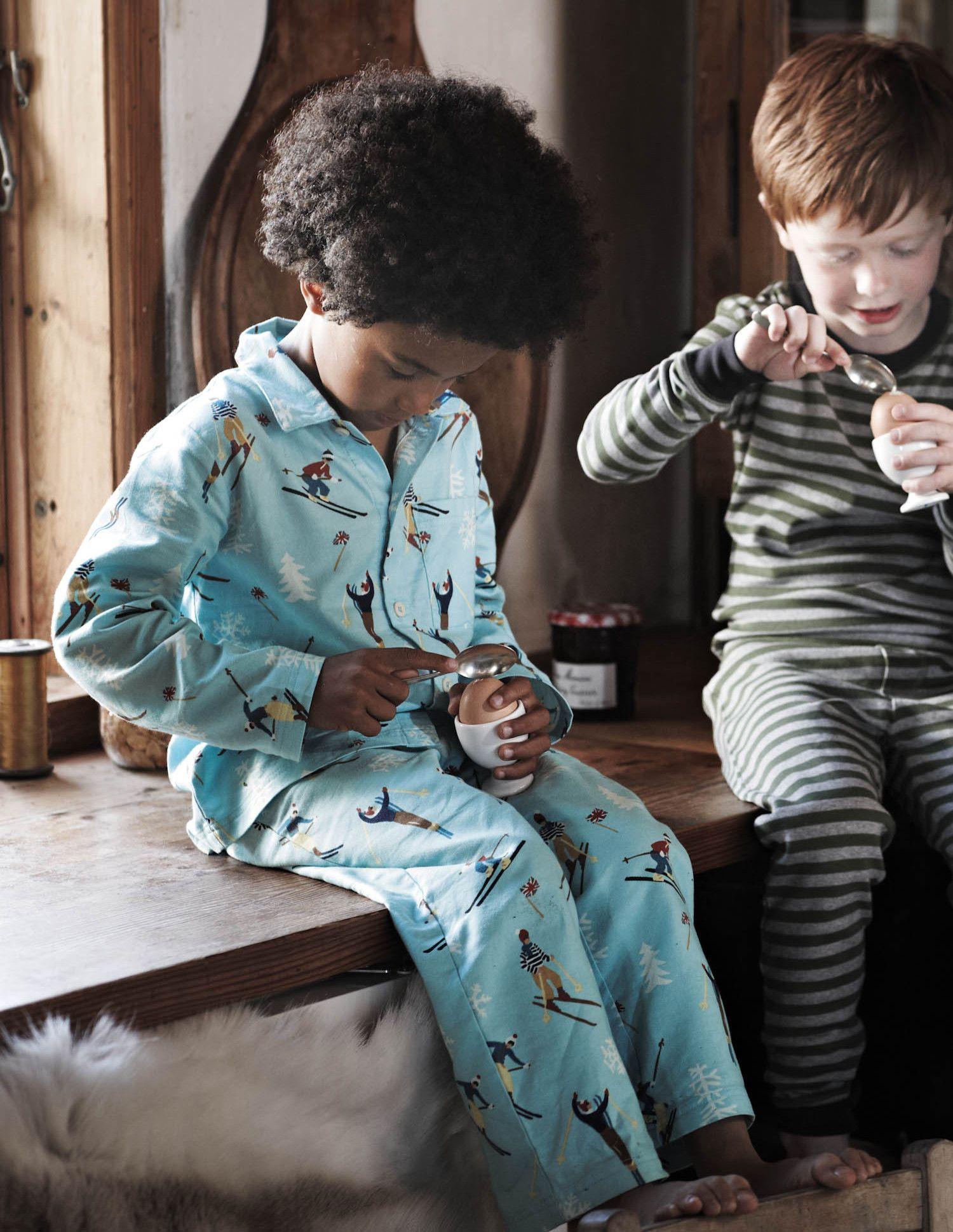 Flannel Pajamas for Christmas Eve!
