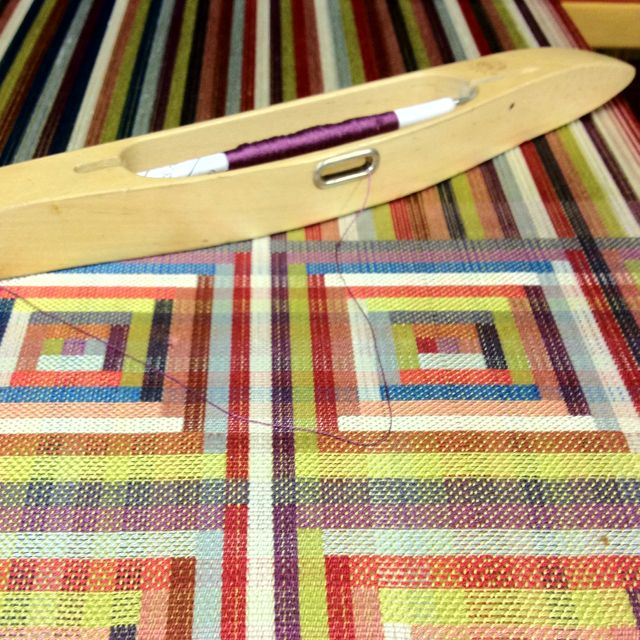 Handwoven upholstery developments- Margo Selby