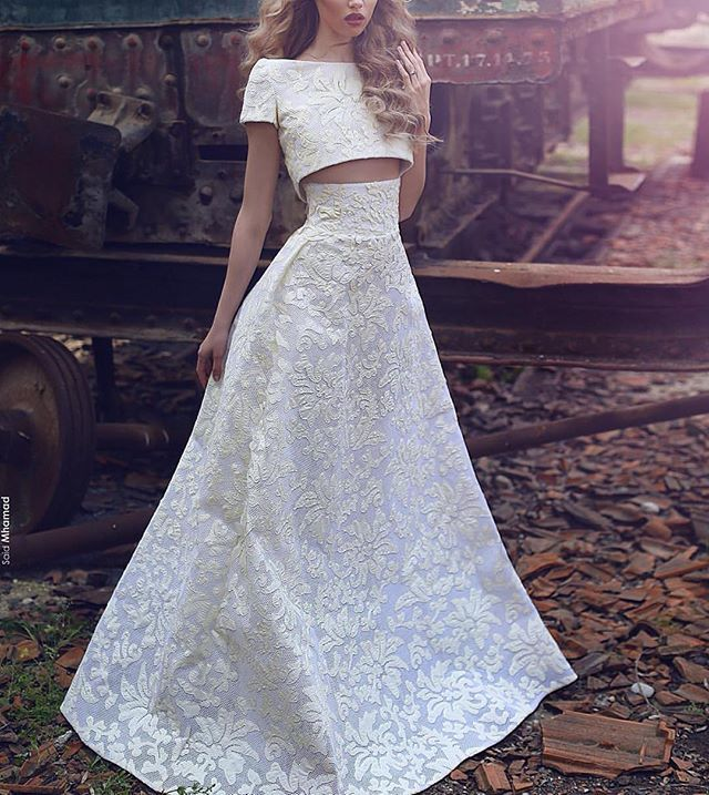 Formal two piece #eveingdress #eveninggown