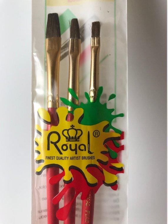 Artist Paint Brush Set Shader Brush Set Natural Hair Brushes Flat Brushes Craft Brushes Face Pa Products Natural Hair Brush Face Paint Set Flat Brush