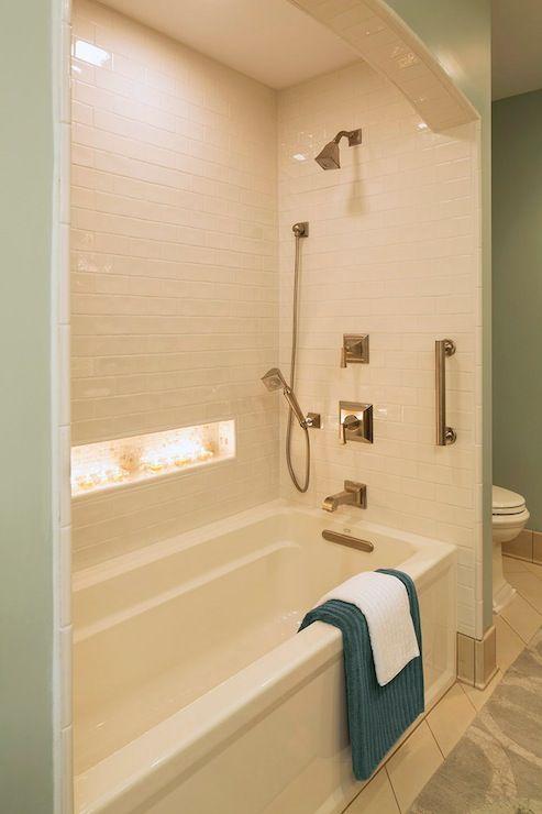 Renae Keller Bathrooms Benjamin Moore Silver Marlin
