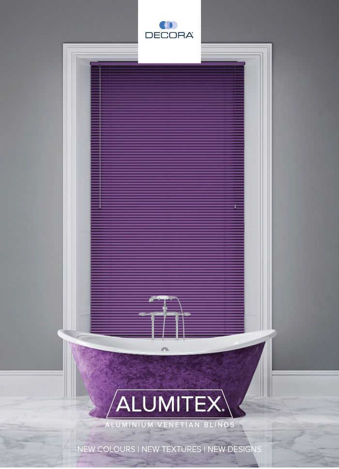 Alumitex Venetian blinds by Decora / Available from Amanda for Blinds.