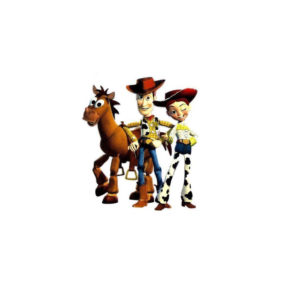 Toy Story ~ Woody Jessie Bullseye Cowboy Disney Iron On Transfer for ... d71bbf5d925