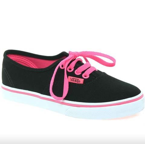 Tênis Vans Preto E Rosa | Vans shoes