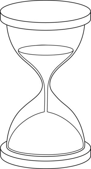 Hourglass Lineart | It's All Relative (Time, Clock, Etc ...