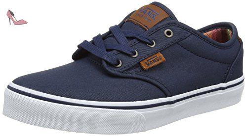 Vans Yt Atwood Dx, Sneakers Basses Garçon, Bleu (Waxed), 39 ...