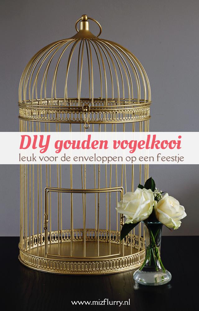 Diy Gouden Vogelkooi Vogelkooi Decoratie Vogelkooi Diys