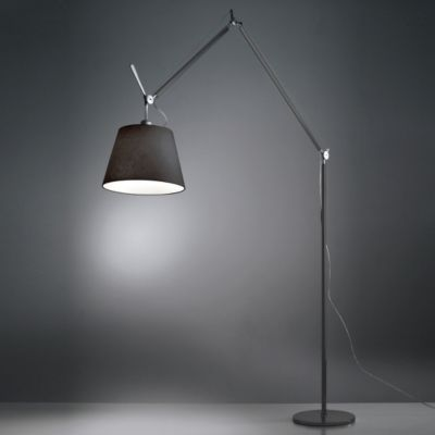 Tolomeo Mega Black Floor Lamp 14 Inch Open Box Return By Artemide Black Floor Lamp Modern Floor Lamps Led Floor Lamp