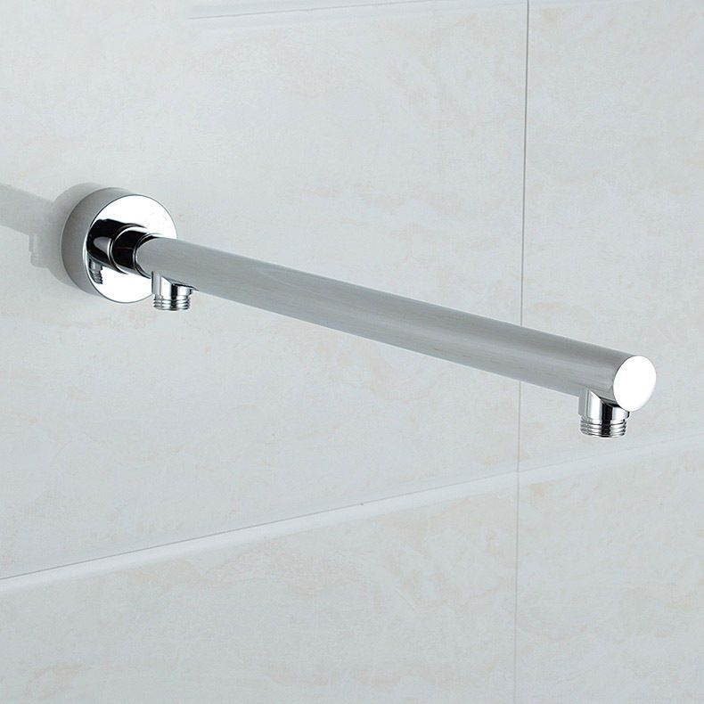 Wall Mounted Brass Round Shower Arm Extension Arm Bottom Entry