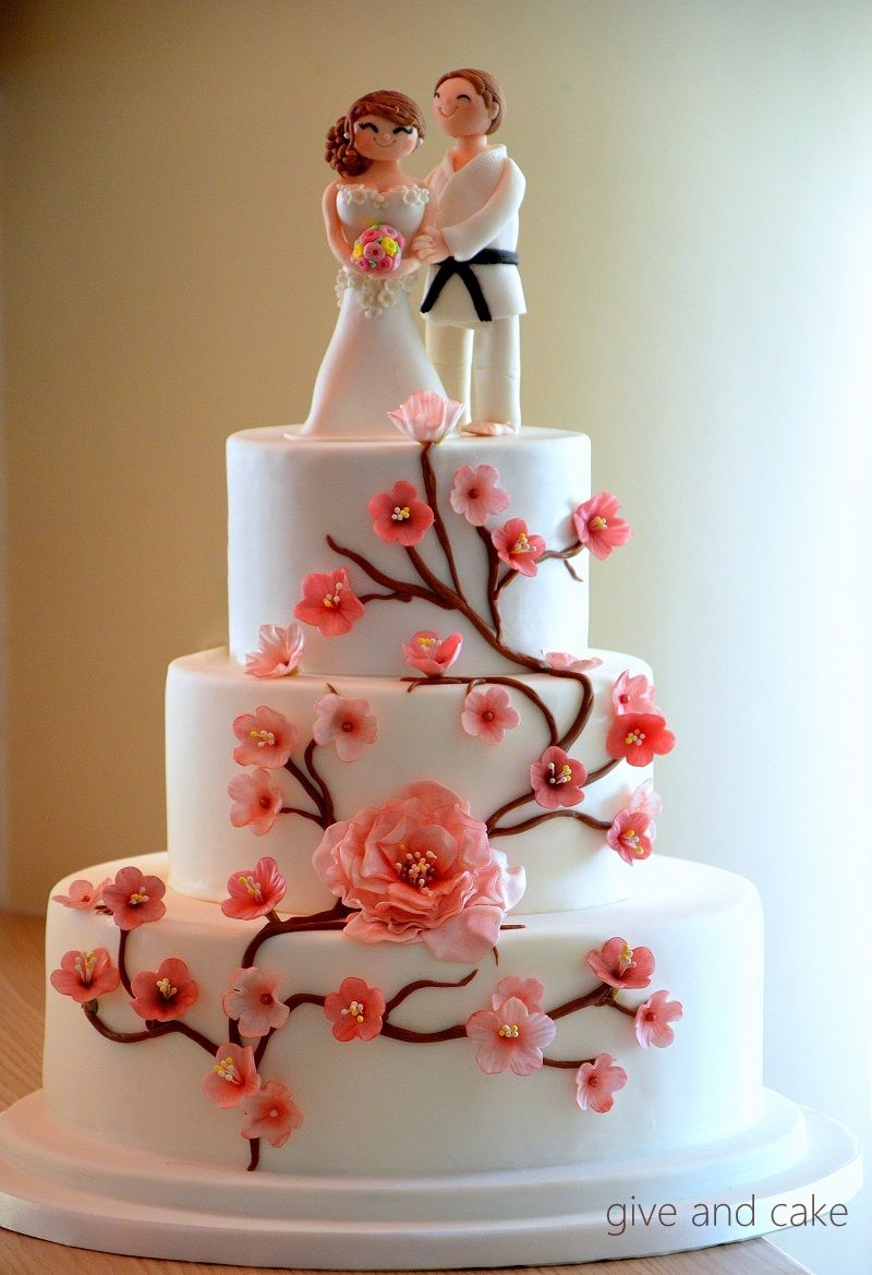 Cherry Blossom Wedding Cakes Pictures Japanese Cherry Blossom Cake