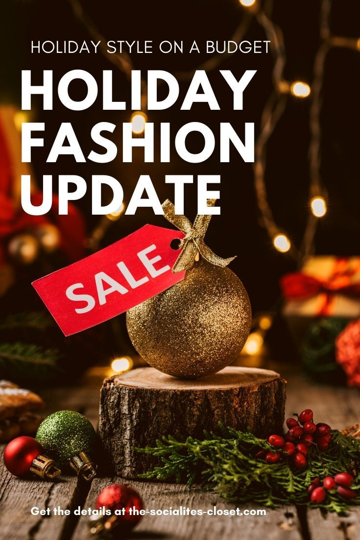 This post on shopping smart for the holidays will help you update your look without blowing your budget. #Christmasshopping #Christmasdeals