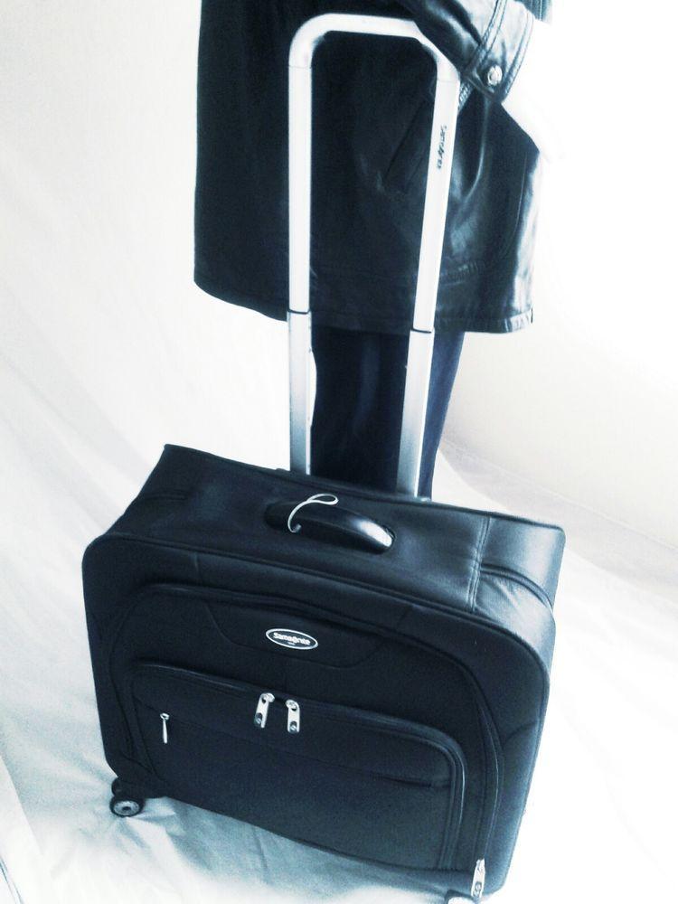 Samsonite 4 Wheel Spinner Garment Bag, Travel Luggage, Black MSRP ...