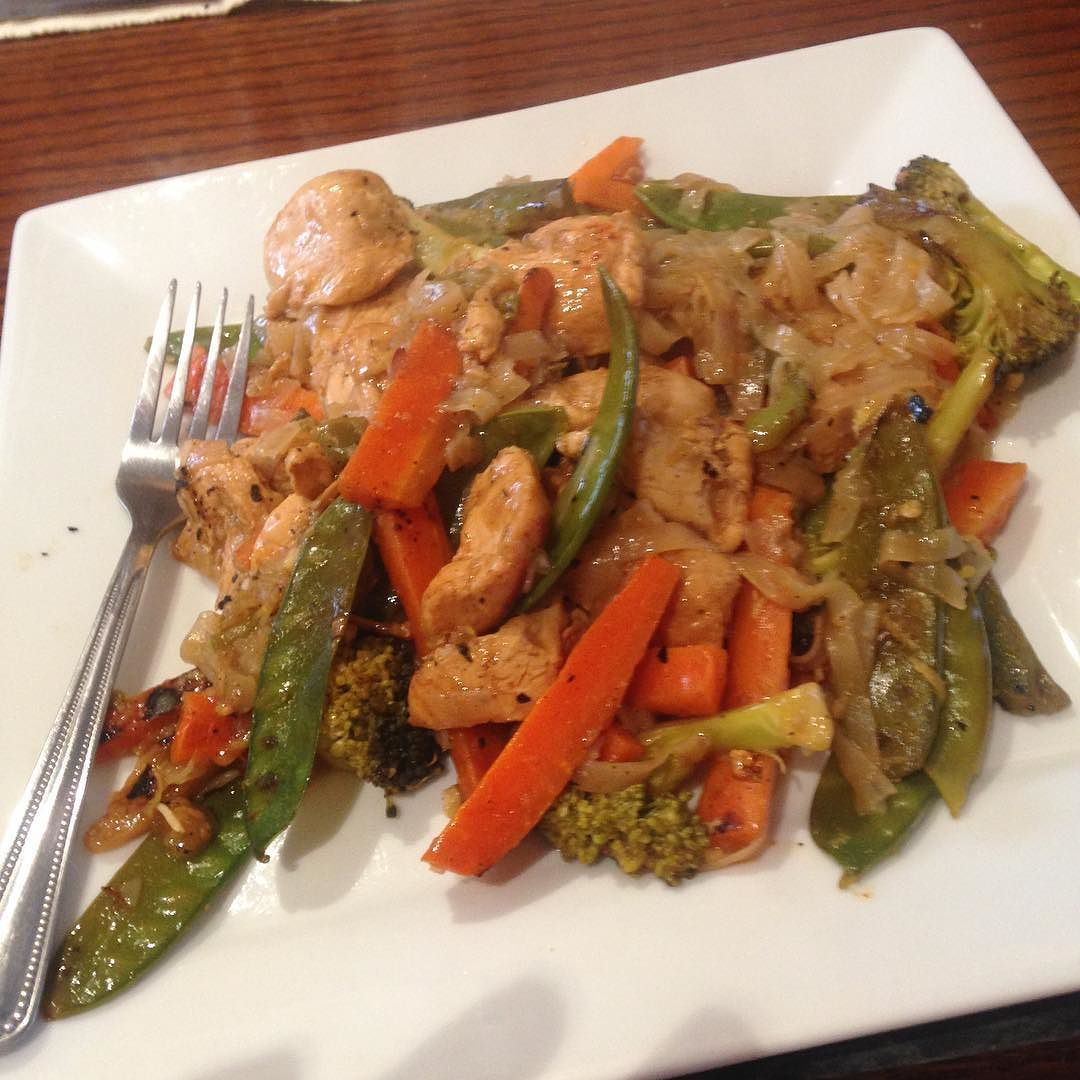 Sticky lemon stir fry #bridediet #weightloss #slimmingworld by nattyfishy