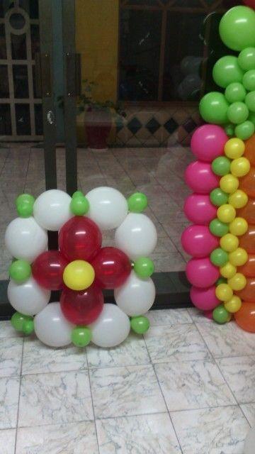 Curso de decoracion con globos.Decoraciones Pauleti.