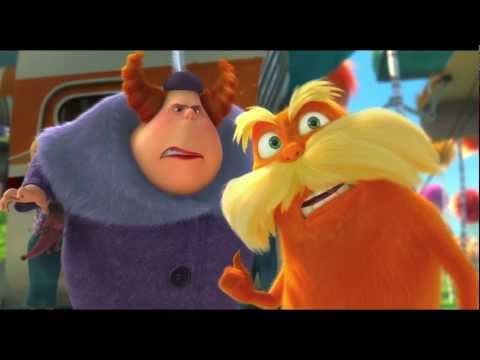 The Lorax  Excellent movie - with record breaking opening