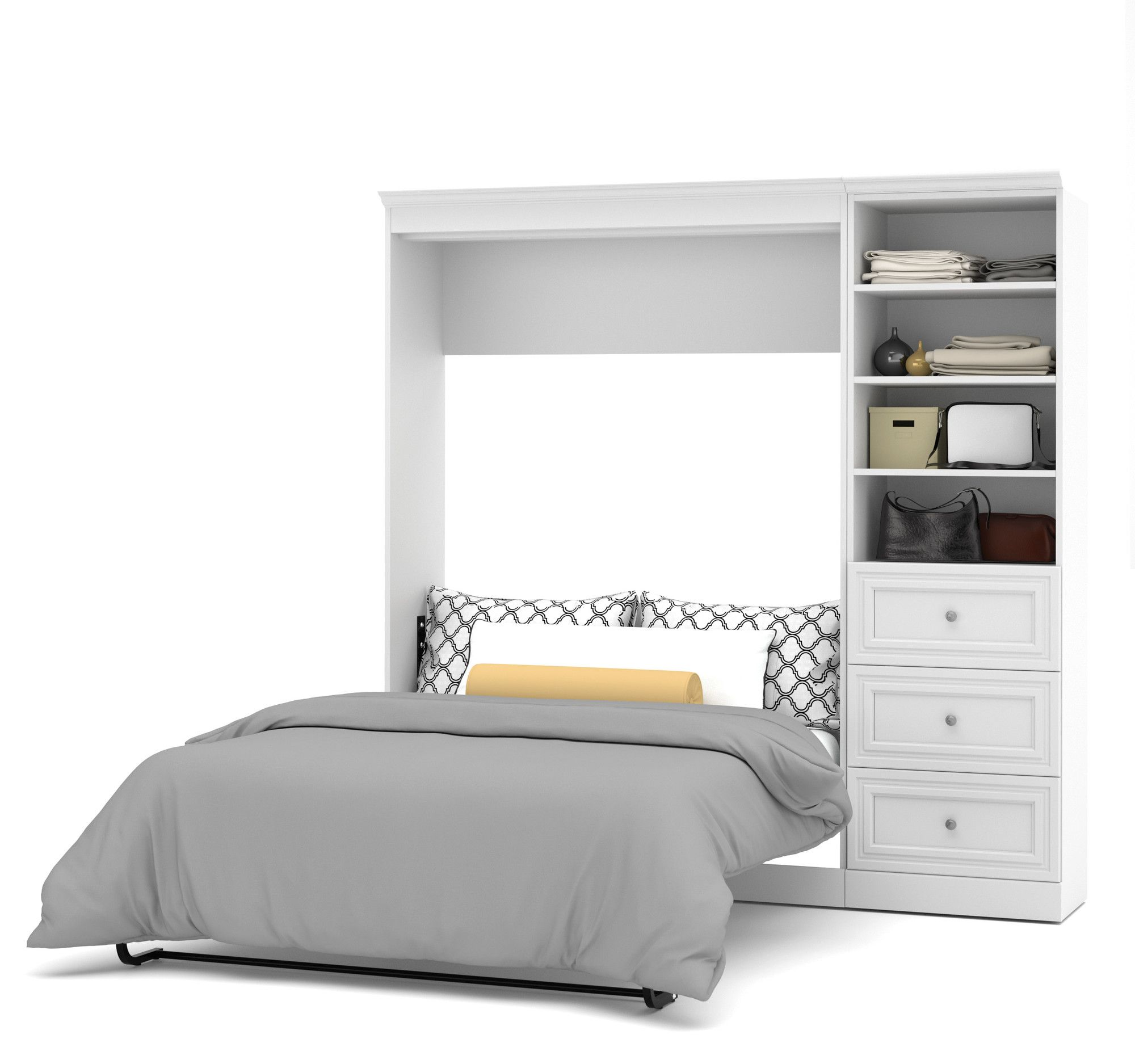 You\'ll love the Versatile Full/Double Murphy Bed at Wayfair - Great ...