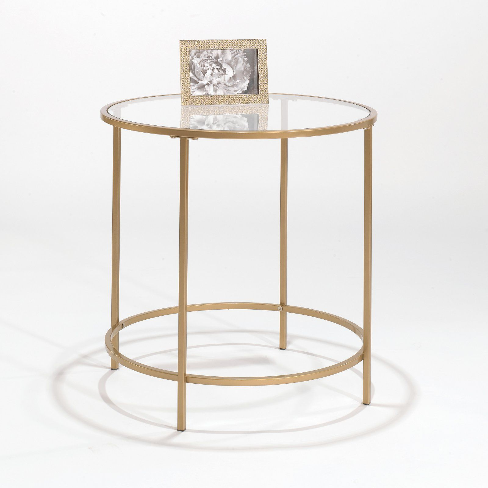 Better Homes Gardens Nola Side Table Gold Side Table Table End Tables