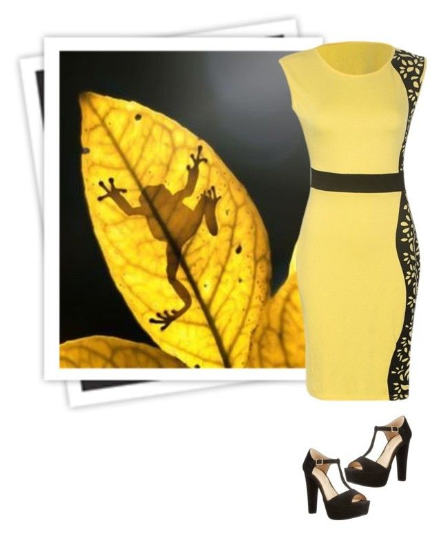 """Yellow #2"" by bookreader17 ❤ liked on Polyvore"
