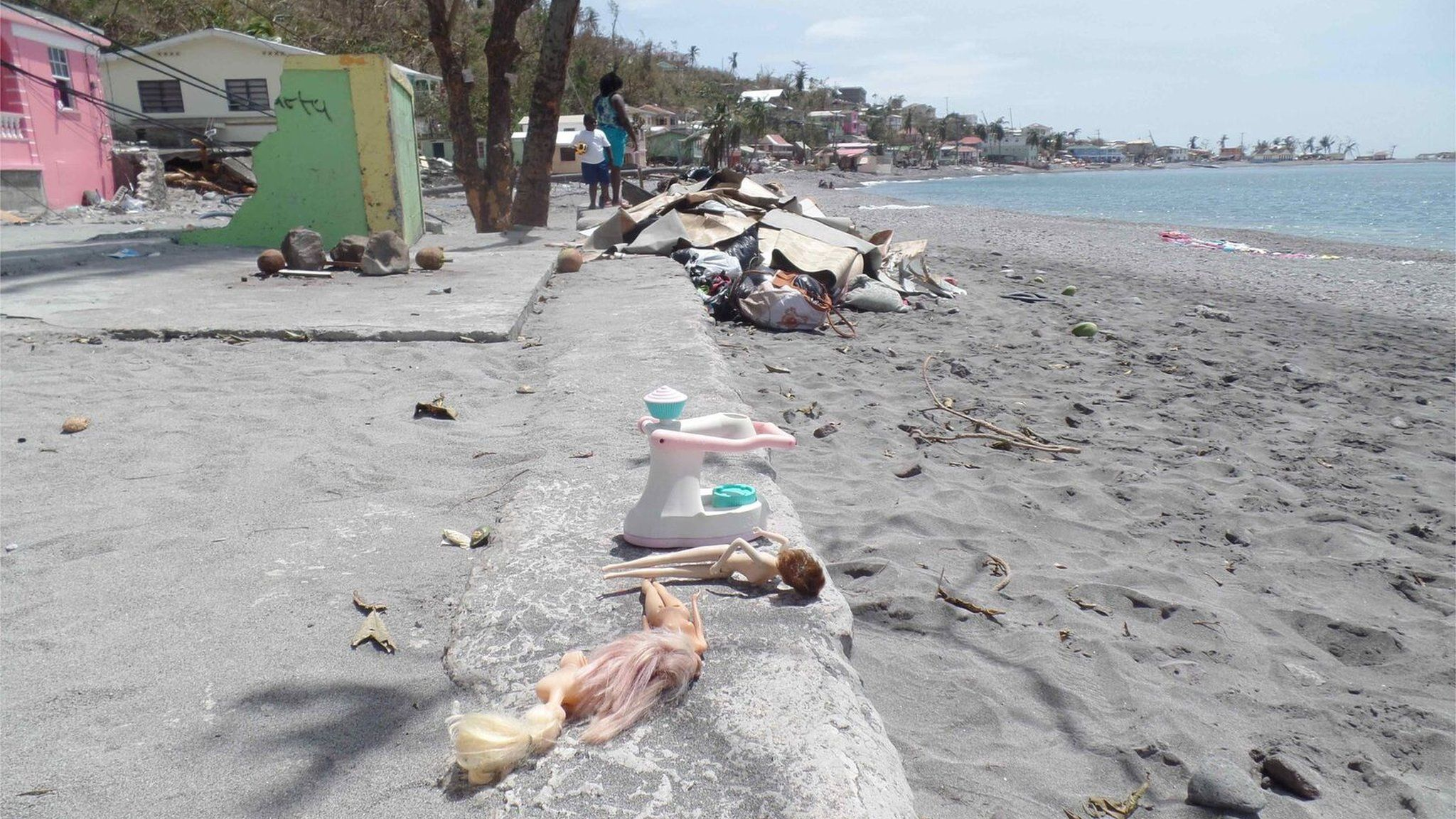 In Pictures Dominica S Desolation Natural Disasters Earth Science Environmental Science