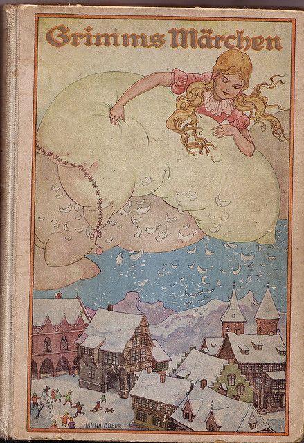 Grimms Fairy Tales Vrouw Holle Kinderbücher Frau Und