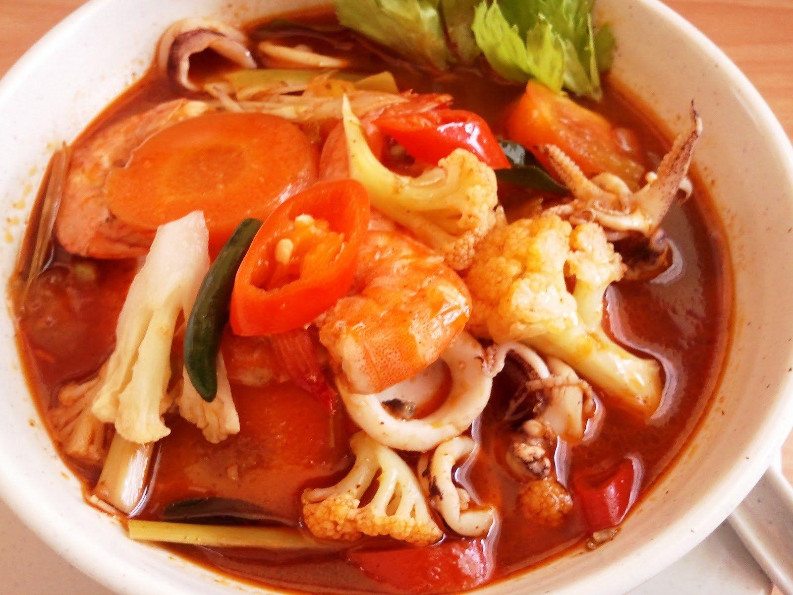 Resepi Tomyam Thai Pekat Bahan Bahan 1 Paket Perencah Tomyam 4 Biji Tomato 5 6 Biji Cili Padi Ikut Selera Resep Makanan Resep Masakan Resep Masakan Malaysia