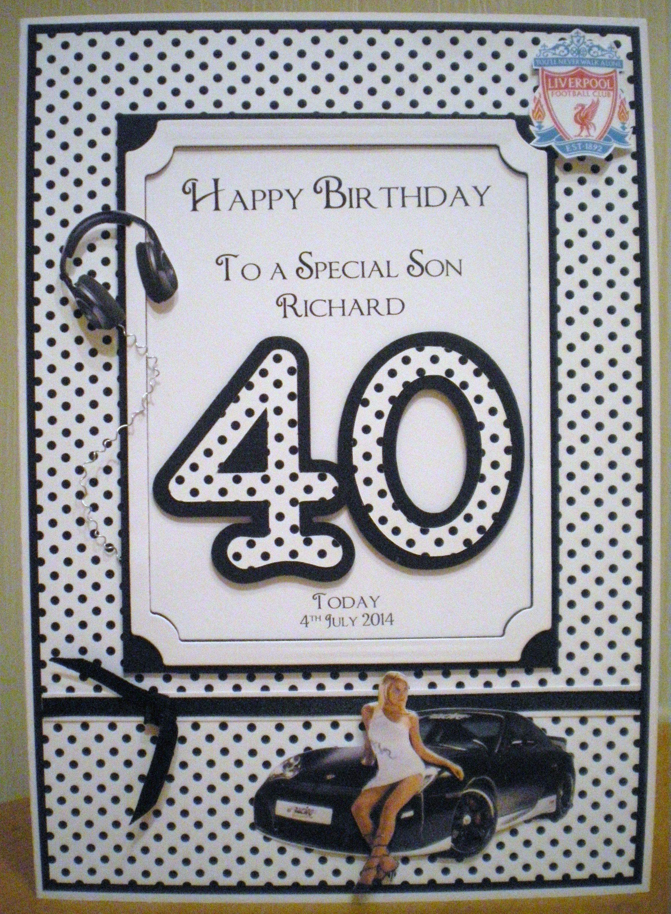 Birthday Son 40th