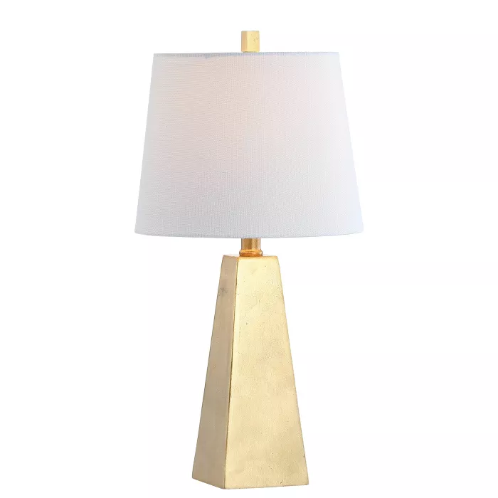 20 5 Alexis Resin Led Table Lamp Gold Includes Energy Efficient