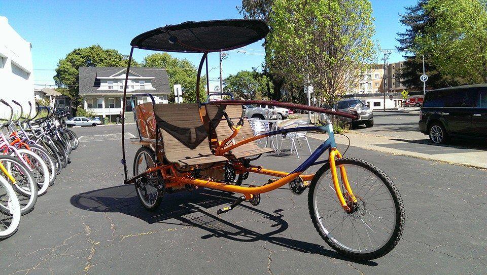Pineapple Trikes Sociable Tandem Cargo Trike Trike Tandem Bicycle