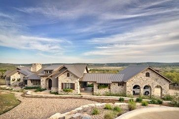 Romantic Hill Country Dream Farmhouse Exterior Austin Schmidt Custom Homes Texas Hill Country House Plans Limestone House Country House Plans