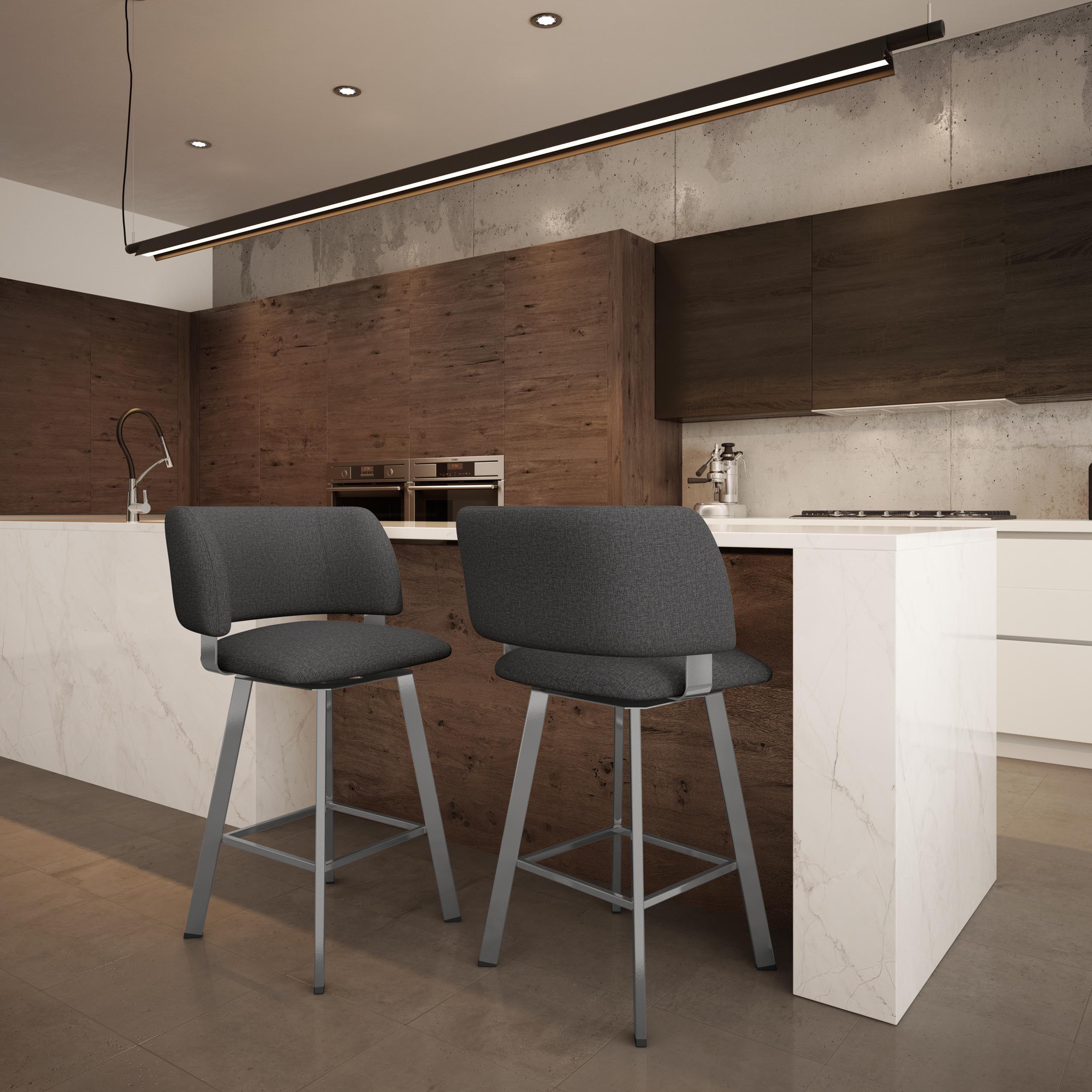 AMISCO   Easton Swivel Stool (41535)   Furniture   Kitchen   Urban  Collection